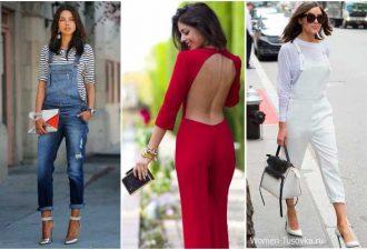 Комбинезон: как его лучше носить