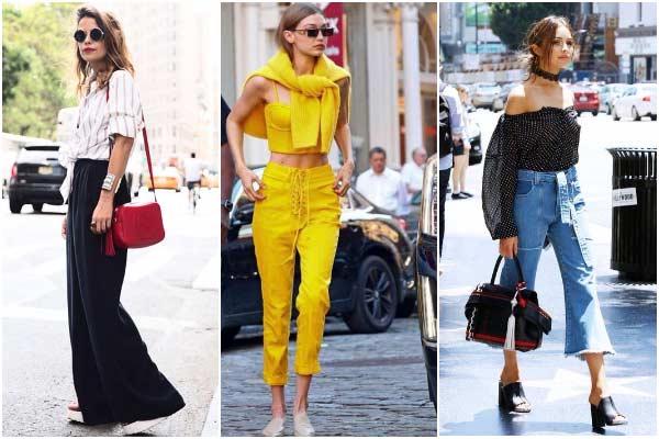 Трендовые летние брюки 2017