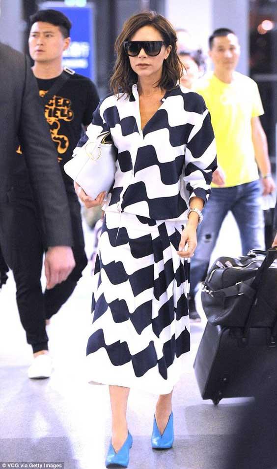 Victoria Beckham образ