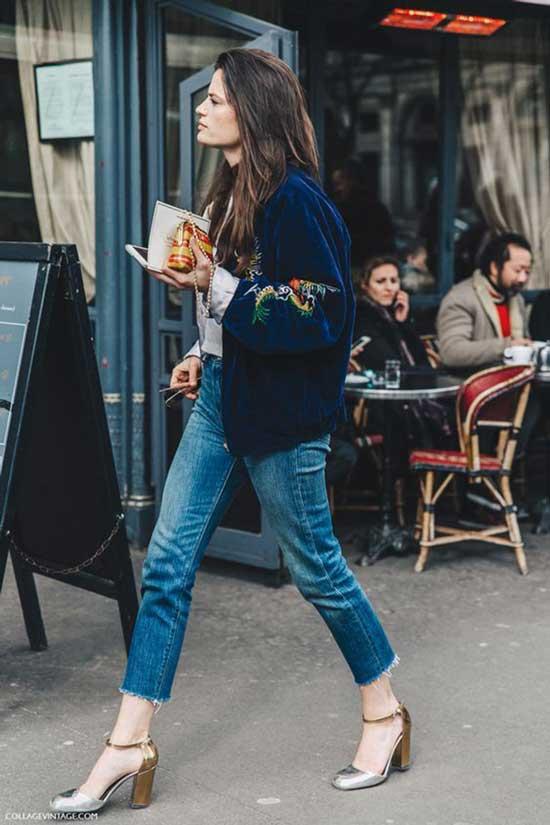 Боомбер+джинсы