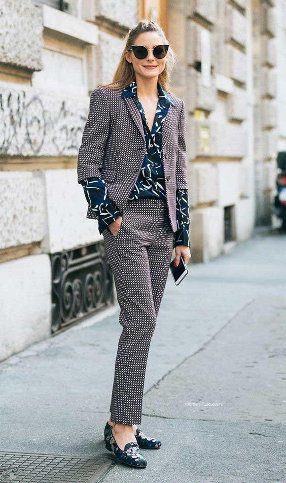 Офисный стиль - модный пример, Оливия Палермо