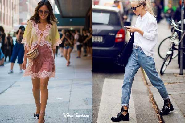 Как одеваться стройным девушкам