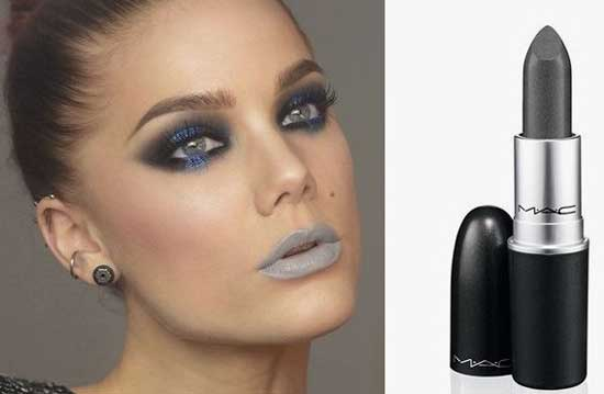 Gray lipstick Mac