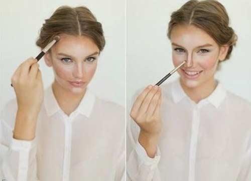 Tontouring makeup