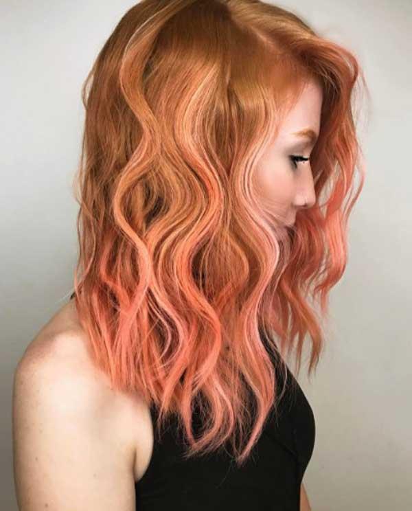 Блоранж - для рыжих волос