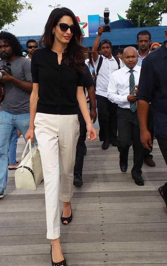 Белые прямые брюки - аутфит