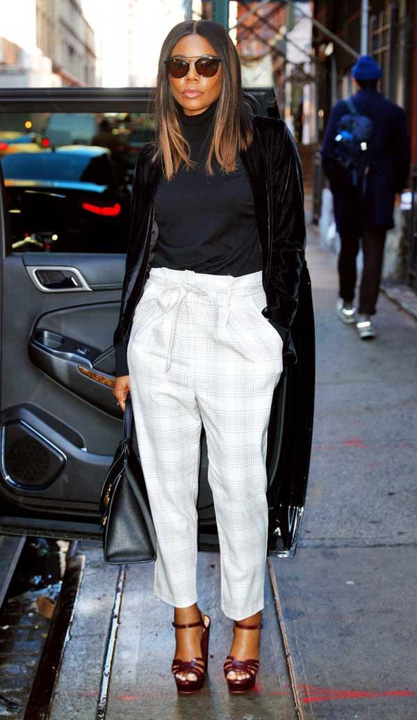 Модная модель брюк 2017