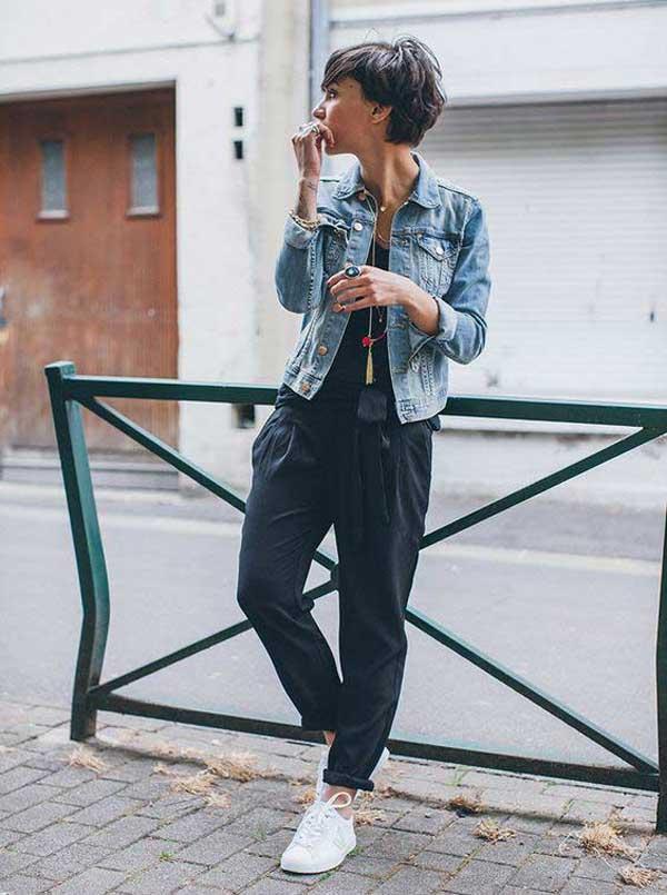 Хит осени 2017- широкие брюки