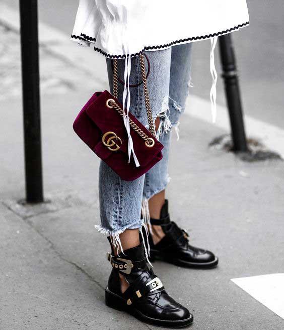 Как носить бархатные вещи и аксессуары