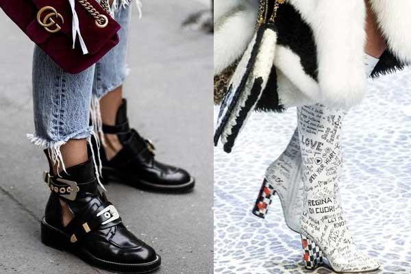 Мода обуви осень 2018 фото