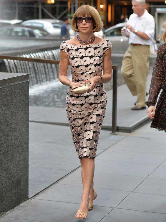 Anna Wintour в Dior