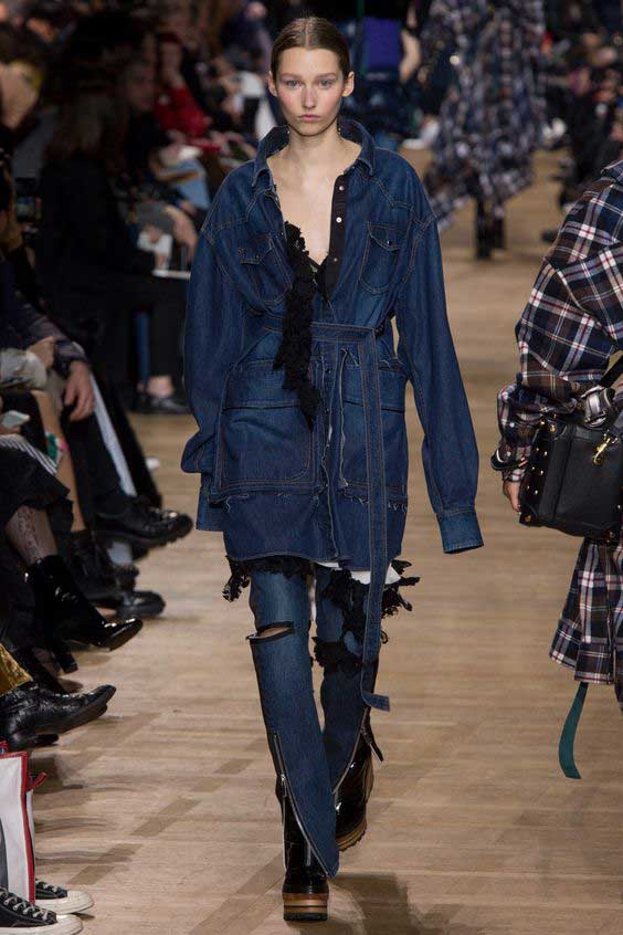 Sacai Fall 2017 Ready-to-Wear collection