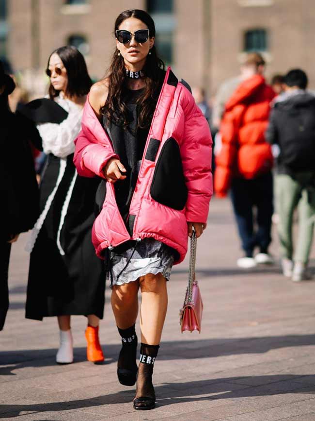 Уличный стиль Неделя моды в Лондоне