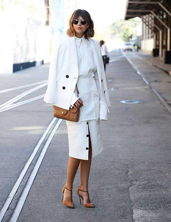 Пиджак + миди-платье