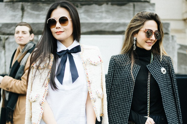 Образы street style paris сентябрь 2017