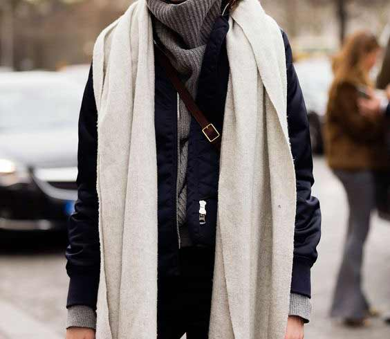 Длинный шарфик
