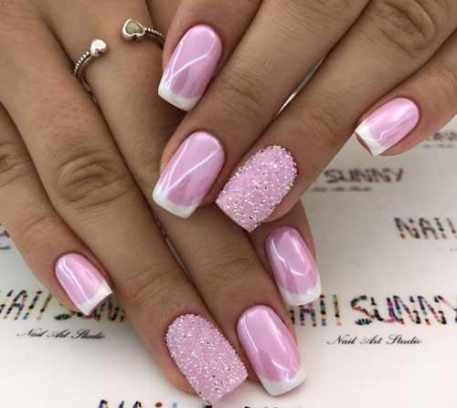 Дизайн в розовом цвете