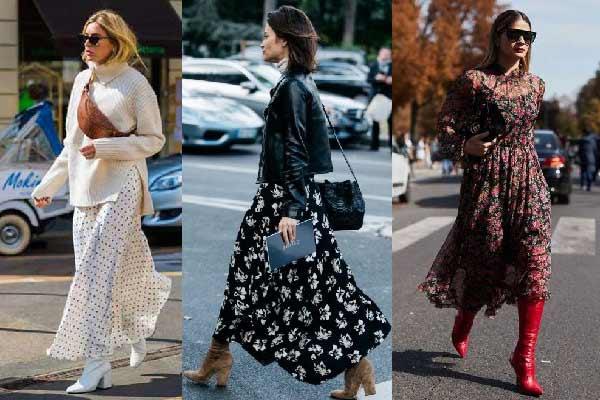Сочетания летней одежды с осенней