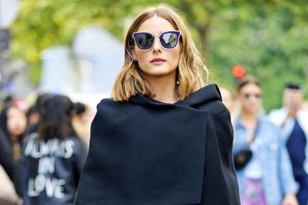 Нескучные сочетания: учимся у Оливии Палермо носить черный осенью