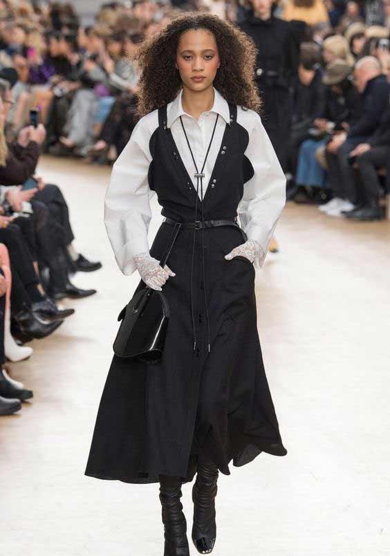 Платье-сарафан с блузой
