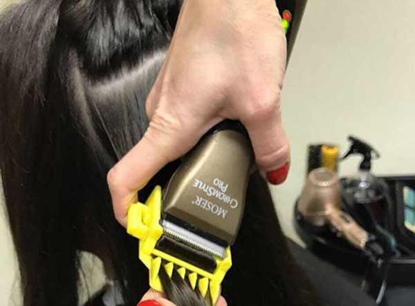 Как выполняется процедура полировка волос