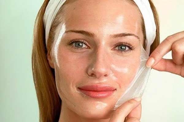 Желатиновые маски для лица