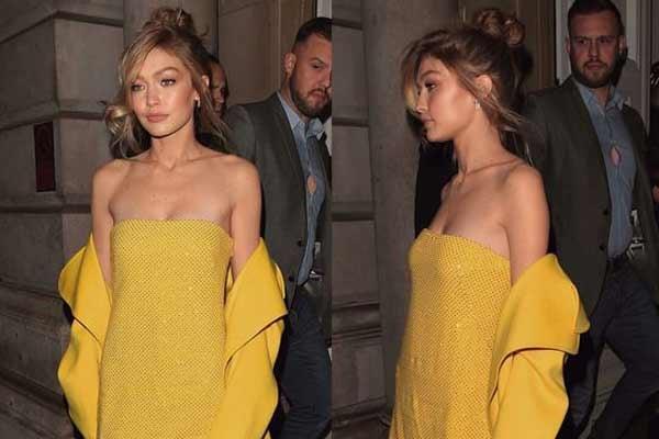 12 вариантов модного желтого платья