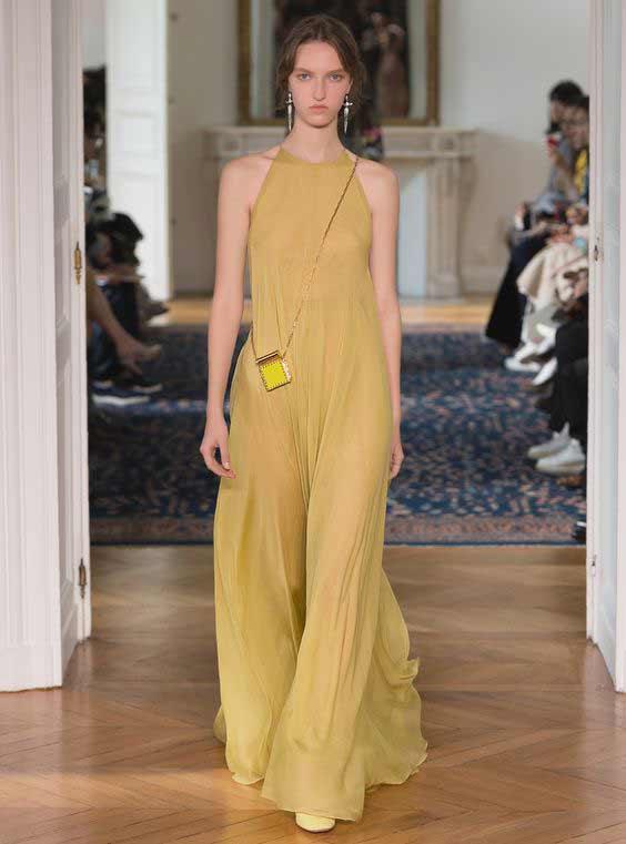 Платье в пол Valentino