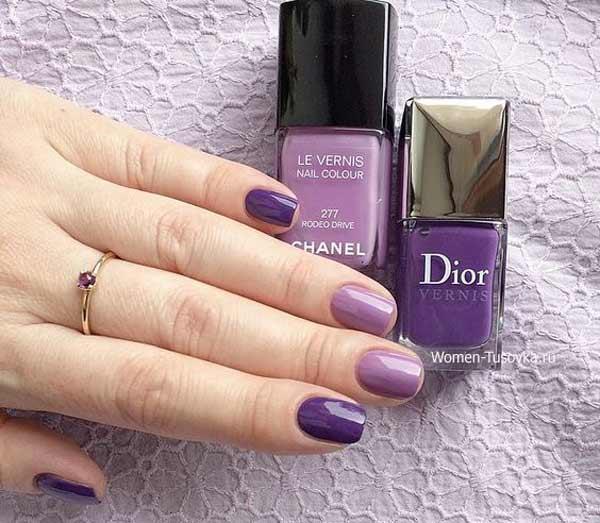 Ultra Violet лак Dior