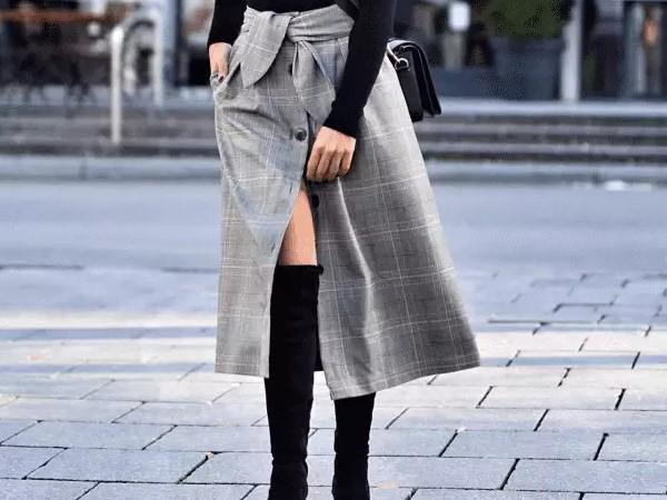 Модные юбки на осень-зиму