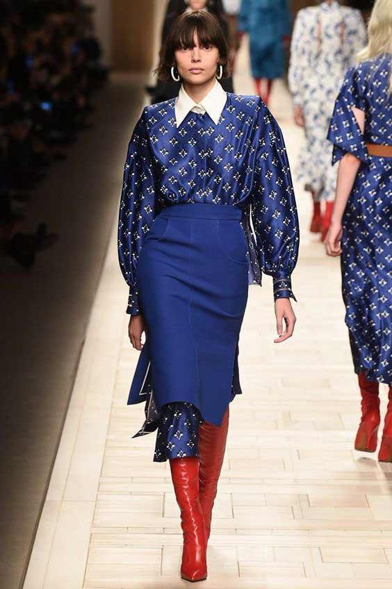 Fendi, Мода 2018: новинки в мире юбок, какую выбрать? Фото