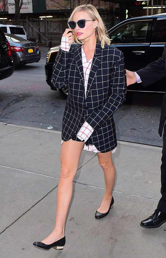 Рубашка в клетку Margot Robbie