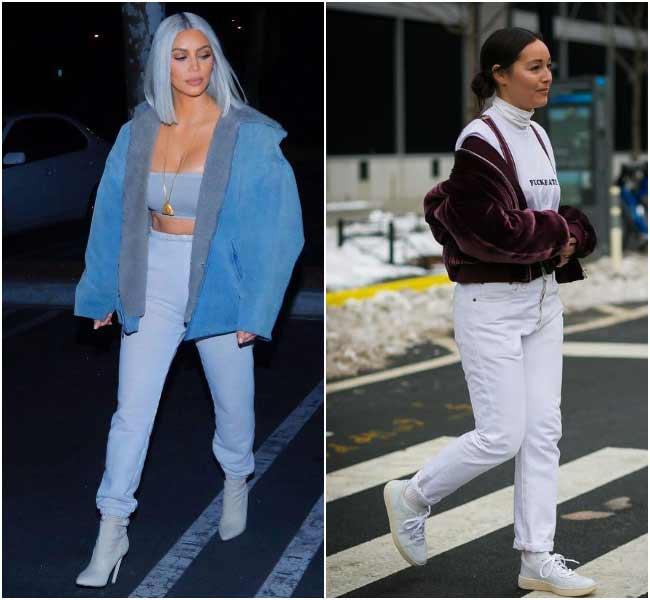 Модные цвета джинсов