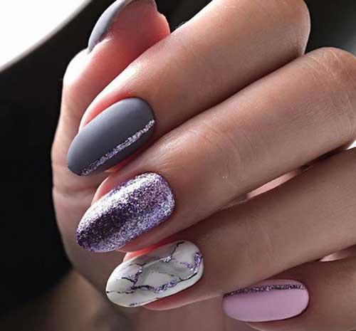 Короткие ногти — стильные идеи