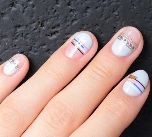 Дизайн ногтей bracelet nails