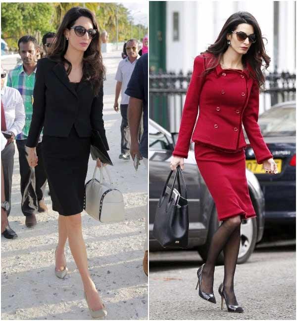Деловые костюмы Амаль Клуни