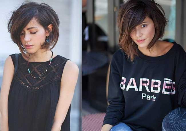 Модные варианты стрижки боб по типу лица: выбираем свою, фото 10