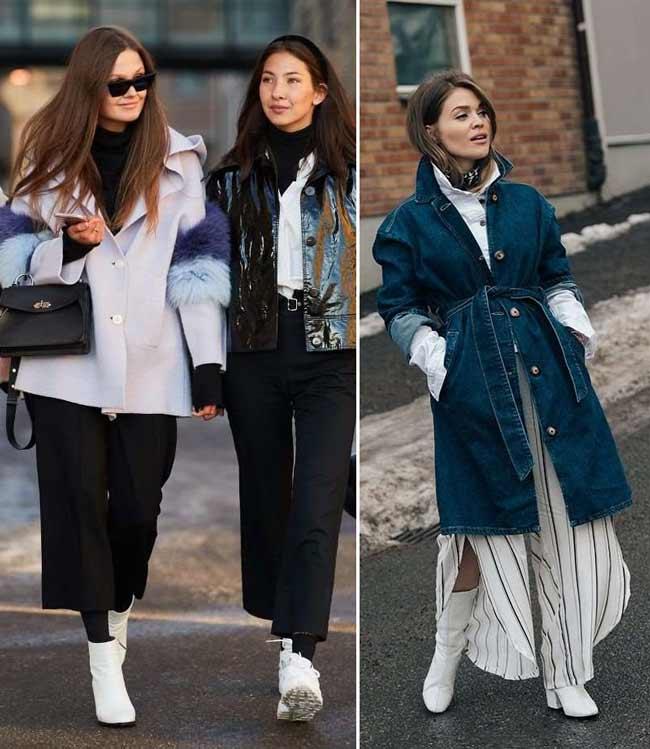 Белые ботильоны самая популярная обувь 2018