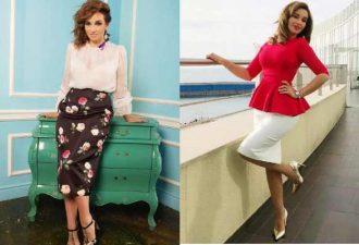 Самые модные и популярные юбки для полных женщин