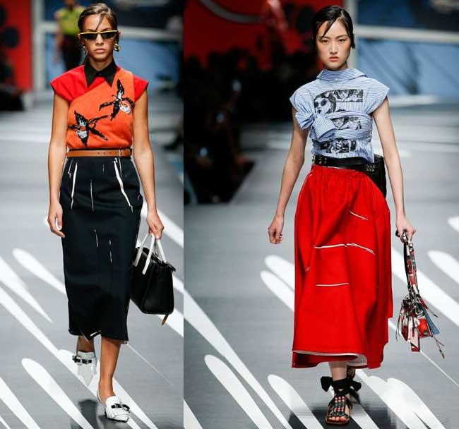 Юбки подборка модных моделей