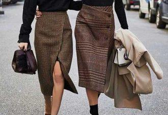 Популярные асимметричные модели юбок