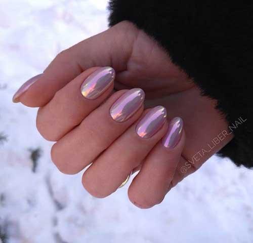 Втирка цветная для ногтей