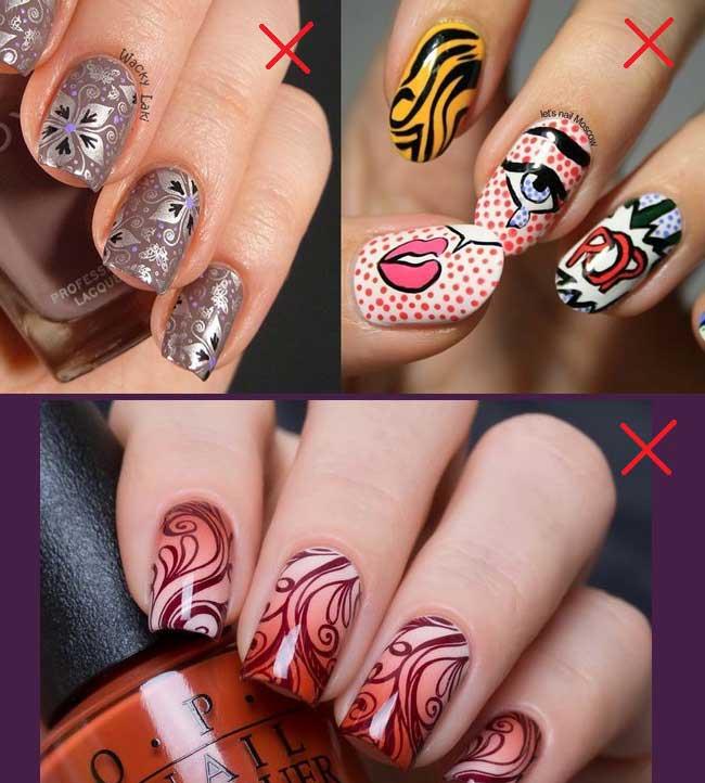 Вышли из моды - сложные рисунки на ногтях