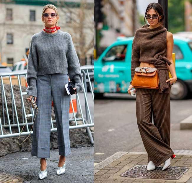 Незаменимые брюки для каждой девушки - широкие