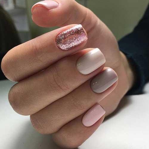 Нежно-розовый маникюр: идеи модного дизайна, новинки весна 2018 фото3