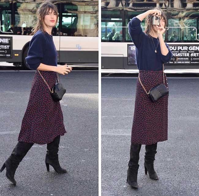 Жанна Дамас: стиль настоящей француженки, образы, фото уличный стиль