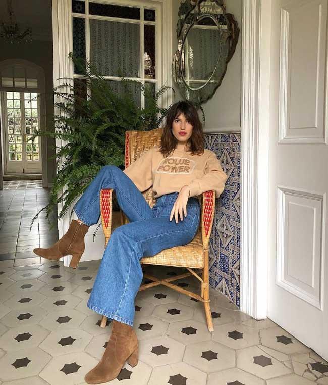 Жанна Дамас: стиль настоящей француженки, образы дома