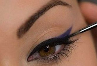 Черно-фиолетовая двойная стрелка