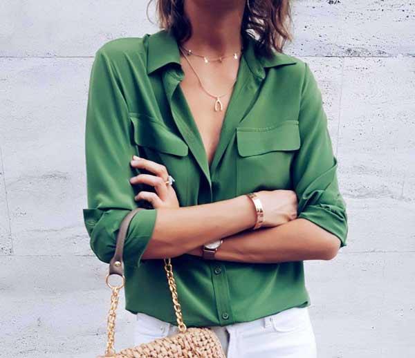 Без них никак: 5 стильных рубашек для женщин