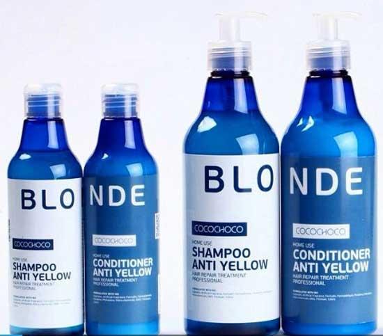 Тонирование брондированных волос